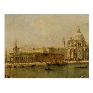 Venice The Dogana and Santa Maria della Salute Postcard