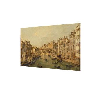 Venice The Rialto Canvas Print