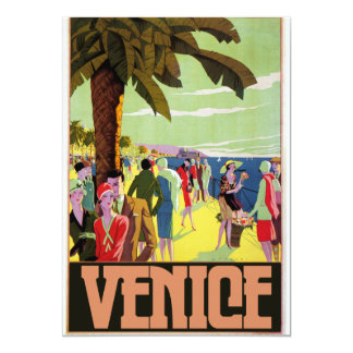 Venice Travel Artwork Card