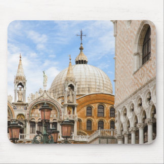 Venice, Veneto, Italy - Birds are perched on a Mouse Pad
