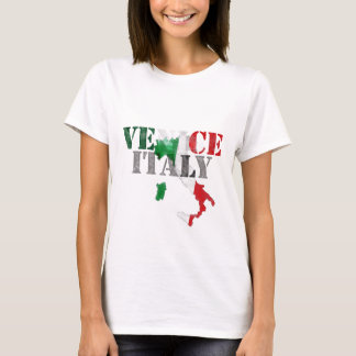 Venice Venezia, Italy Gifts. Italia Watercolor Art T-Shirt