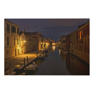 Venice Wood Wall Decor