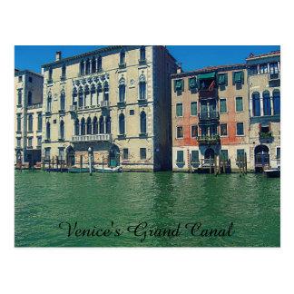Venice's Grand Canal Postcard