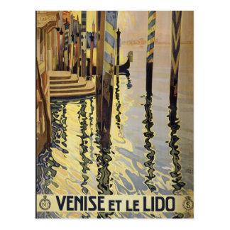 Venise Et Le Lido, Venice, Italy Vintage postcard