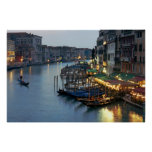 Venise même le canal grand posters