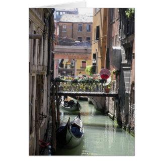 Venitian Canal Card