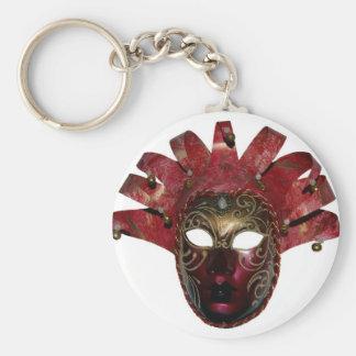 venitien mask keychain