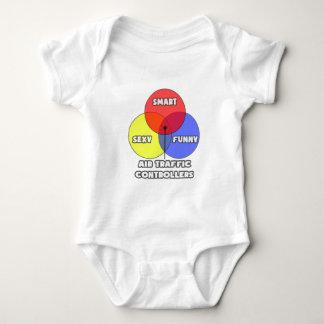 Venn Diagram .. Air Traffic Controllers Baby Bodysuit