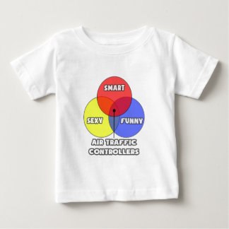 Venn Diagram .. Air Traffic Controllers Baby T-Shirt