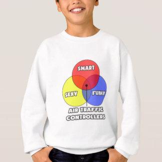 Venn Diagram .. Air Traffic Controllers Sweatshirt
