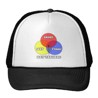Venn Diagram .. Day Traders Trucker Hat