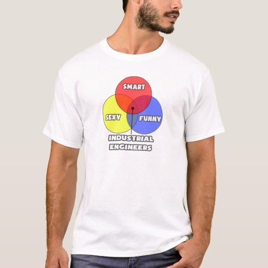Venn Diagram .. Industrial Engineers T-Shirt