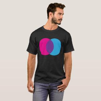 Venn Diagram Pink, Blue, & Purple T-Shirt