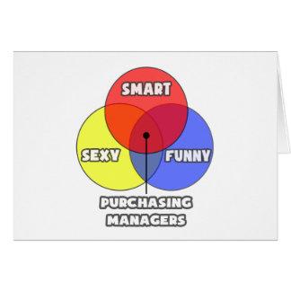 Venn Diagram .. Purchasing Managers Card