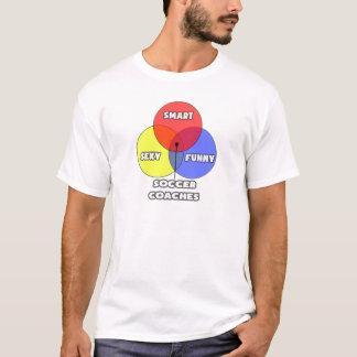 Venn Diagram .. Soccer Coaches T-Shirt