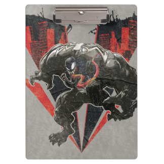 Venom Ink And Grunge Clipboard