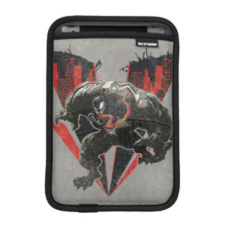 Venom Ink And Grunge iPad Mini Sleeve