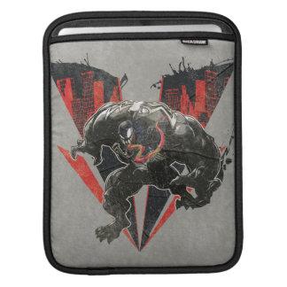Venom Ink And Grunge iPad Sleeve