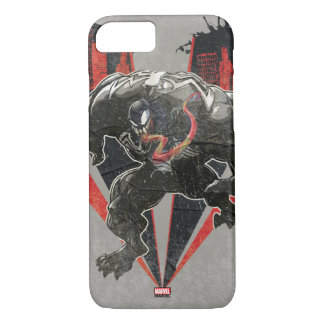 Venom Ink And Grunge iPhone 8/7 Case