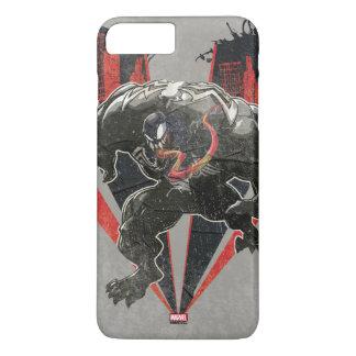 Venom Ink And Grunge iPhone 8 Plus/7 Plus Case