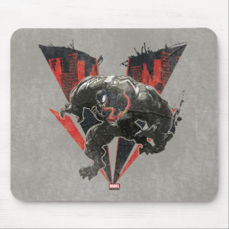 Venom Ink And Grunge Mouse Pad