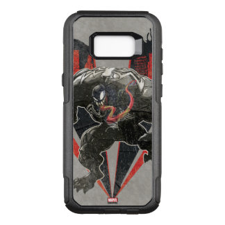 Venom Ink And Grunge OtterBox Commuter Samsung Galaxy S8+ Case