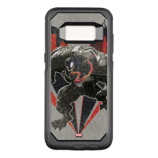 Venom Ink And Grunge OtterBox Commuter Samsung Galaxy S8 Case