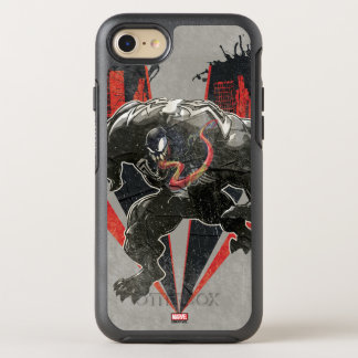 Venom Ink And Grunge OtterBox Symmetry iPhone 8/7 Case