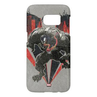 Venom Ink And Grunge Samsung Galaxy S7 Case