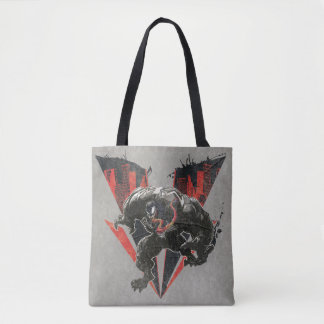 Venom Ink And Grunge Tote Bag