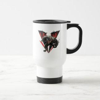 Venom Ink And Grunge Travel Mug