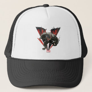 Venom Ink And Grunge Trucker Hat