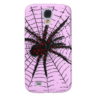 Venomous Black Spider Scary Insect Art