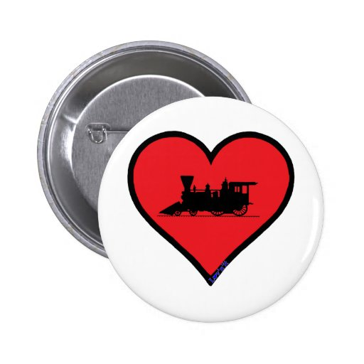 ventage steam locomotive button