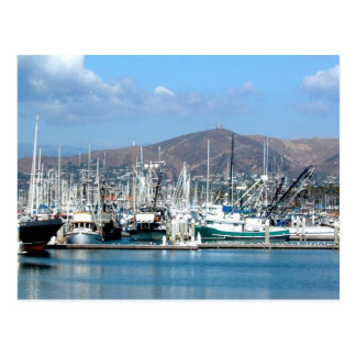 Ventur Harbor Postcard