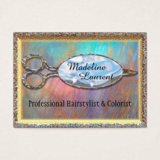 "Ventura Cut Hairstylist Salon   3.5"" x 2.5"" Business Card"