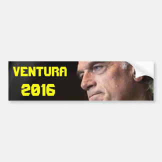 Ventura for President Bumper Sticker