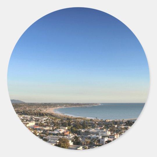 Ventura Skyline Classic Round Sticker