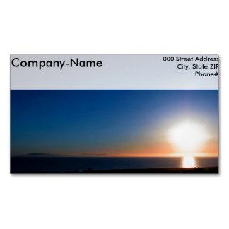 Ventura Sunset Business Card Magnet