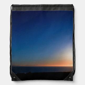 Ventura Sunset Drawstring Bag