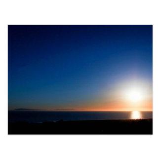 Ventura Sunset Postcard