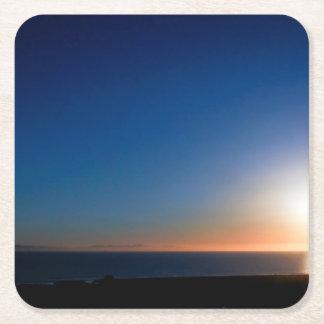 Ventura Sunset Square Paper Coaster