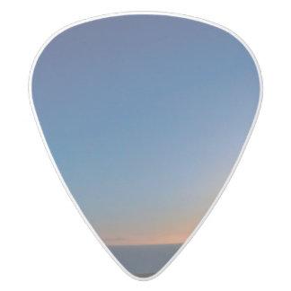 Ventura Sunset White Delrin Guitar Pick