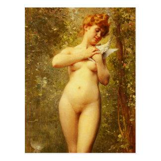 Venus A La Colombe Postcard
