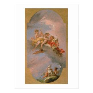 Venus and Adonis (oil on canvas) Postcard