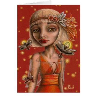 Venus and Fireflies Card