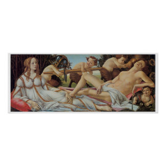 Venus and Mars by Sandro Botticelli Poster