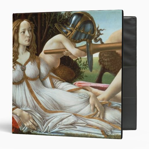 Venus and Mars, c.1485 (tempera and oil) 3 Ring Binders