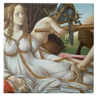 Venus and Mars, c.1485 (tempera and oil) Ceramic Tiles