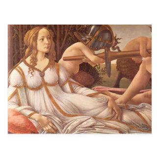 Venus and Mars Postcard